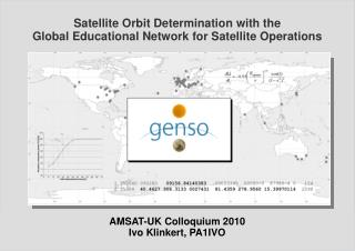 Satellite Orbit Determination with the Global Educational Network for Satellite Operations