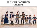 French Revolution Culture