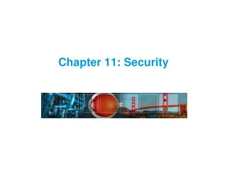 Chapter 11: Security
