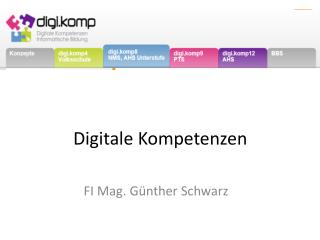 Digitale  Kompetenzen