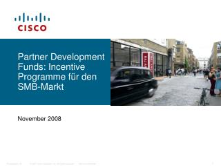Partner Development Funds: Incentive Programme für den SMB-Markt