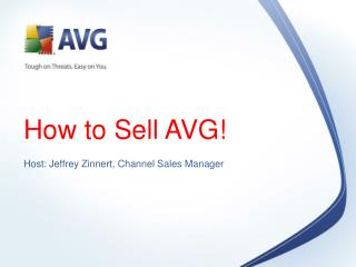 How to Sell AVG!