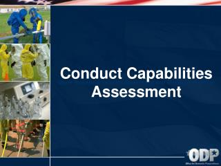 Conduct Capabilities Assessment