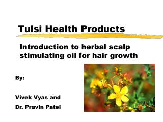 Tulsi Health Products