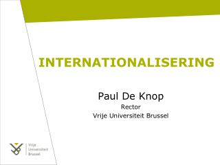 INTERNATIONALISERING