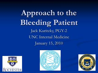 Approach to the Bleeding Patient