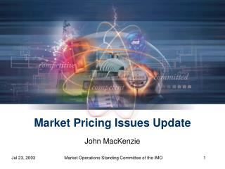 Market Pricing Issues Update