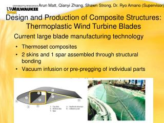 Current large blade manufacturing technology