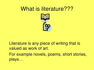 What is literature???