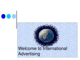 Welcome to International Advertising