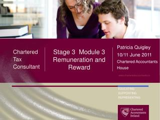 Stage 3  Module 3 Remuneration and Reward