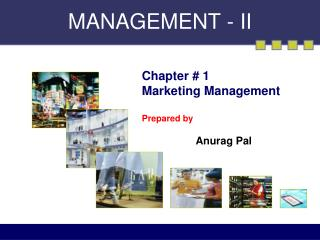 MANAGEMENT - II
