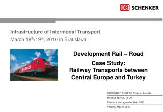 Infrastructure of Intermodal Transport