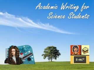 Academic Writing for Science Students