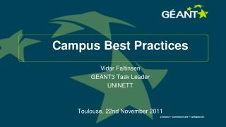 Campus Best Practices