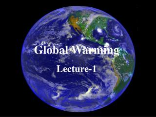 slowing down global warming