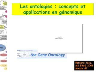 Les ontologies : concepts et applications en génomique