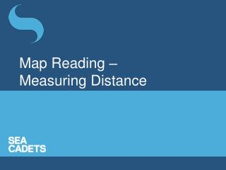 Map Reading – Measuring Distance