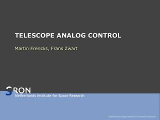 TELESCOPE ANALOG CONTROL