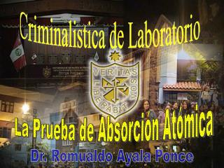 Criminalistica de Laboratorio
