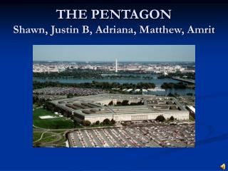THE PENTAGON Shawn, Justin B, Adriana, Matthew, Amrit