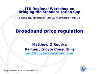 Broadband price regulation