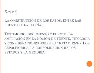 TESTIMONIO, DOCUMENTO, FUENTE