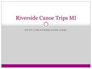 Kayak and Canoe Rentals in Michigan