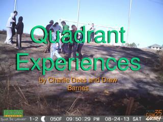 Quadrant Experiences