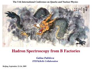 Hadron Spectroscopy from B Factories
