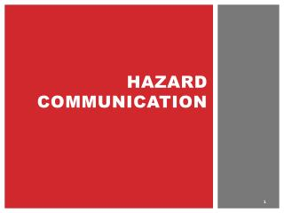 HAZARD Communication
