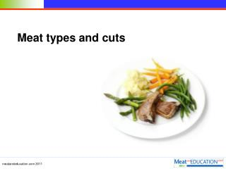 Meat types and cuts