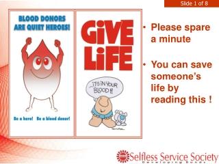 Selfless Service: