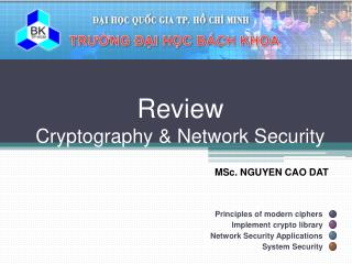 Review Cryptography & Network Security
