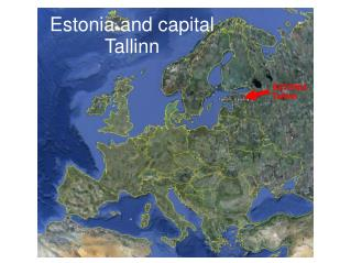 Estonia and capital Tallinn