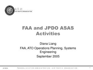 FAA and JPDO ASAS Activities