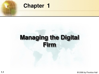Chapter 2   The Strategic Role of Information Systems