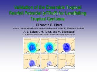 Validation of the Ensemble Tropical Rainfall Potential (eTRaP) for Landfalling Tropical Cyclones
