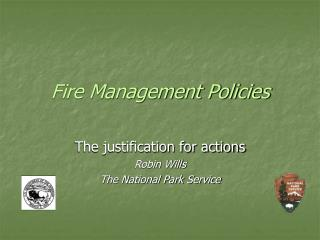 Fire Management Policies