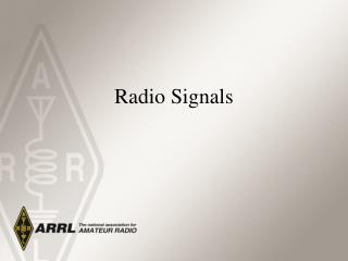 Radio Signals