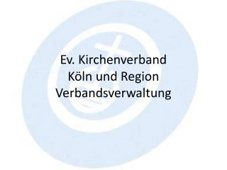 Ev Kirchenverband Köln Und Region
