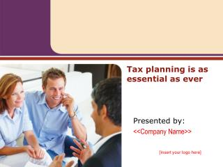 Tax planning is as essential as ever