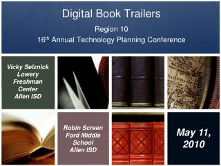 Digital Book Trailers
