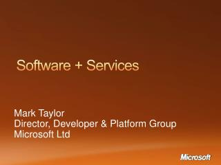 Software + Services