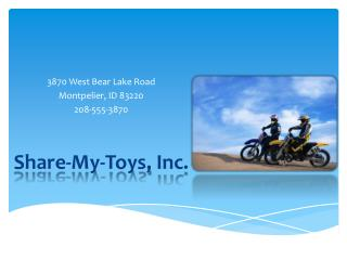 Share-My-Toys,  Inc .