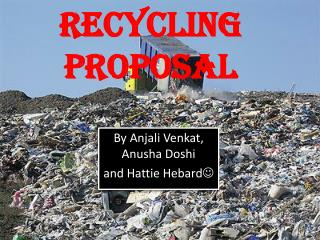 recycling proposal