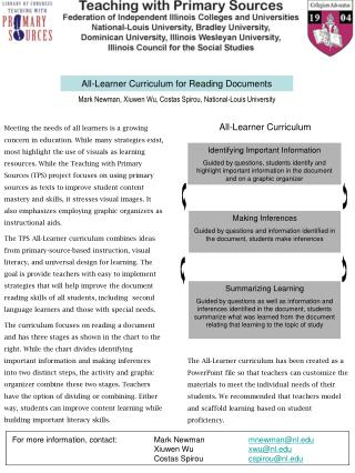 All-Learner Curriculum for Reading Documents