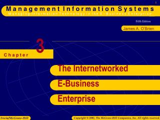 The Internetworked E-Business Enterprise