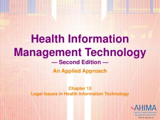 Health Information Management Technology   Second Edition