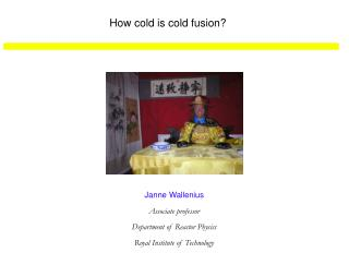 How cold is cold fusion?